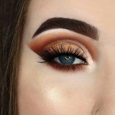 100 Stunning eye makeup ideas - beautiful eye shadow , highlight #eyeshadow #eyemakeup #makeup
