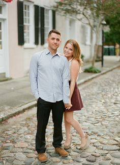 Charleston Engagement Session from Ruth Eileen Photography  Read more - http://www.stylemepretty.com/2013/11/08/charleston-engagement-session-from-ruth-eileen-photography/