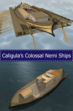 Ancient World Alive | Titan(ic)s of the Past, Part 2 Nemi ships – The Floating Palaces