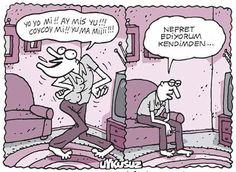 - Yo yo mi!! Ay mis yu!!! Coycoy mi!! Yu ma miiii!!! + Nefret ediyorum kendimden... #karikatür #mizah #matrak #komik #espri #şaka #gırgır #komiksözler