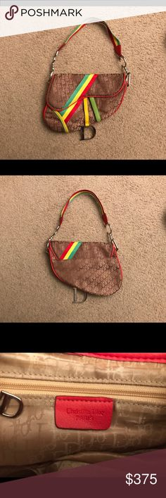 Christian Dior Saddle Bag Authentic Dior Saddle Bag. Great condition! Christian Dior Bags Shoulder Bags