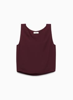 This is a simple, classic, cropped V-neck shell blouse. The matte satin has a beautiful drape and stays looking polished all day long. Matte Satin, V Neck Blouse, Basic Tank Top, Silk, Tank Tops, Classic, Fabric, Women, Fashion