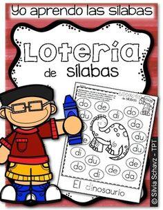 Yo aprendo las sílabas - Lotería de sílabas