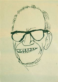 Artist: Ben Shahn, Title: Barry Goldwater