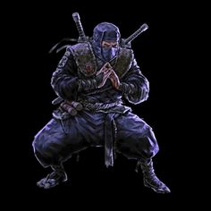 Warrior 2, Shadow Warrior, Ninja Art, Shuriken, Black Hood, Samurai Art, Martial Arts, Iron Man, Character Art