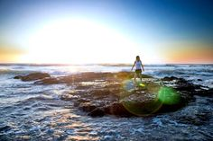 Beautiful Practice : Yoga Instructor Dori photo I shot for her in Costa Rica on Playa Langosta