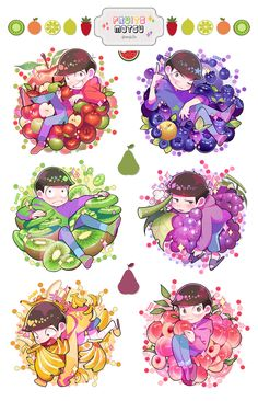 Read Frutas from the story Imagenes Que Me Encantaron De Osomatsu-San by Fell_in_hell (México-chan with 242 reads. Dark Anime Guys, All Anime, Anime Manga, Anime Art, Hetalia, Character Concept, Character Design, Osomatsu San Doujinshi, Chibi Food