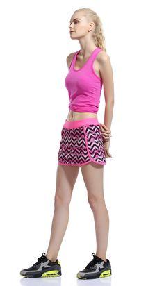 Tennis Skort, Fitness Activities, Gym Workouts, Boho Shorts, Skirts, Fashion, Moda, Fashion Styles, Skirt