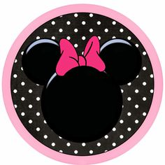 Funny Pink Minnie Mouse Free Printable.