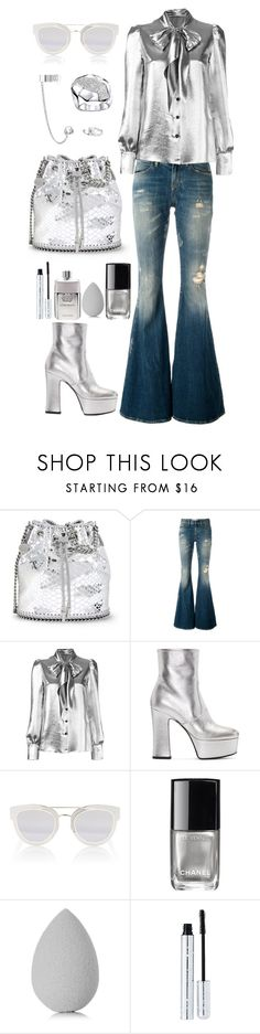 """""""Outfit #544"""" by sofi6277 on Polyvore featuring moda, STELLA McCARTNEY, Faith Connexion, Yves Saint Laurent, Christian Dior, Chanel, beautyblender, 100% Pure y Gucci"""