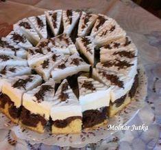 My Recipes, Sweet Recipes, Cookie Recipes, Dessert Recipes, Hungarian Desserts, Hungarian Recipes, Cupcakes, Cupcake Cakes, Croatian Recipes