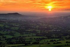 Cheshire Plain, Peak District, England