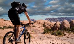 Poison Spider Mesa Biking Trail - Moab Utah