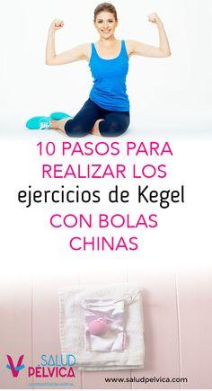 Aprende a realizar los ejercicios de Kegel usando las bolas chinas