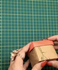 Cool Paper Crafts, Paper Crafts Origami, Origami Paper, Diy Paper, Oragami, Diy Crafts Hacks, Diy Crafts For Gifts, Diy Crafts Videos, Crafts For Kids