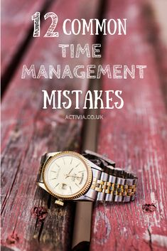 Time management mistakes encompass more than just losing time. They lead to increased levels of stress, inefficient use of your focus, and an ultimate failure to reach targets. If you want to get to the next level of productivity, try and avoid the following common errors: http://www.activia.co.uk/blog/12-common-time-management-mistakes