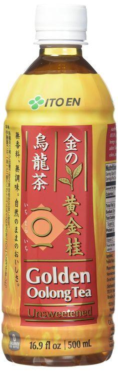 Ito En Tea Golden Oolong Tea, Unsweetened, 16.9 Ounce (Pack of 12)