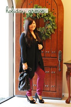 Curvy Girl Chic - Plus Size Fashion and Style Blog: holiday armor