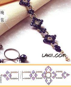 Beads bracelet PATTERN Lakii 15