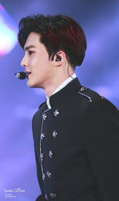 170603 - Suho at Dream Concert 2017 (cr.white clover) | Twitter
