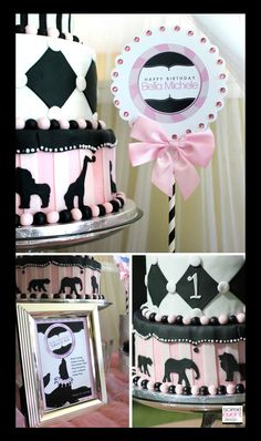 Girly Circus printables by Soiree-EventDesignShop.com