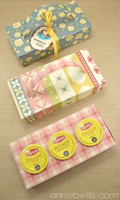 KCup Gift Boxes with Tags by Annie Williams - Main