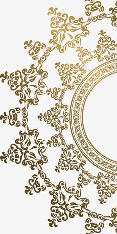 Decorao de fundo dourado vector padro golden png e vector vector patrn de oro vector golden patrn png y vector stopboris Images