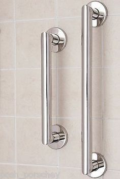 Curved Grab Rail Luxury Finish Support Handle Shower Bar Bathroom Endearing Bathroom Safety Bars Design Decoration