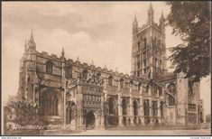 Gloucester - Gloucester Cathedral, c.1920 - Frith's Postcard