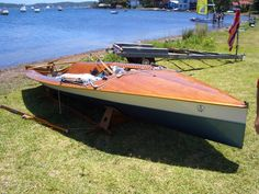 Thankyou Malcolm Eggins, designer and builder of sophisticated racing dinghies