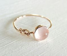 Rings Inspiration : Rose Quartz Ring Rose Gold Ring Infinity Knot Ring Symbol Ring Friendship Go Pink Moonstone, Moonstone Ring, Moonstone Engagement Rings, Solitaire Engagement, Rainbow Moonstone, Infinity Knot Ring, Infinity Symbol, Infinity Jewelry, Infinity Ring Wedding