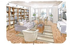 House Calls: Small apartment makeover - The Washington Post/ by Jennifer Riddel