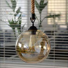 2016 индивидуальность творческие стекла подвесные светильники чердак конопли стол веревка ретро lampara гостиной ресторан светильник suspendu