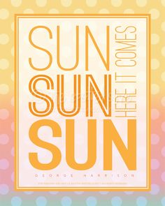 the life and designs of the spotted olive™: {printable freebie} sun sun sun word art