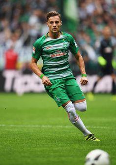 Robert Bauer of Bremen in action during the Bundesliga match between Werder…