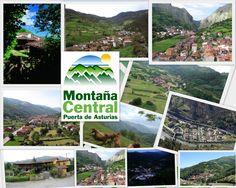 Pueblos de la Montaña Central de #Asturias España