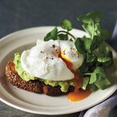 Fried Eggs On Toast with Pepper Jack and Avocado