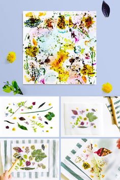 This fun and easy printmaking project for kids uses hammered flowers and leaves to create naturally colorful process art! This fun and easy printmaking project for kids uses hammered flowers and leaves to create naturally colorful process art!