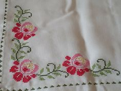 Cross Stitch Flowers, Stitches, Embroidery, Cross Stitch Rose, Crochet Batwing Tops, Facts, Cross Stitch Embroidery, Cross Stitch Samplers, Embroidery Ideas