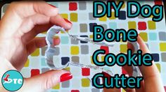 Want to make dog biscuits, but don't have a dog bone cookie cutter? Here is a cheap way to make a dog bone out of an item you already have at home!