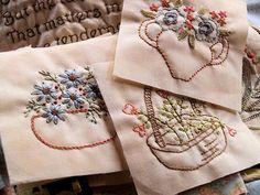 beautiful stitchery