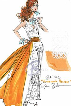 Robert Best #fashion #illustration