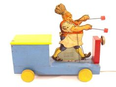 Old Wood Toys  Pat A Cake