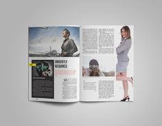 A Creative Multipurpose Magazine by GreenDesign on Creative Market