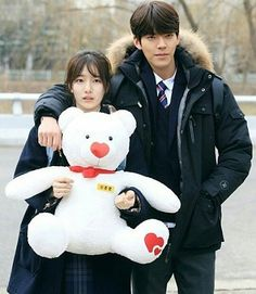 Suzy&Kim Woo bin - - -#suzy #kimwoobin #lfl #like4like #likemypic #uncontrollablyfond #kbs #woozy