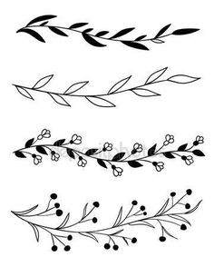 Bullet Journal Lettering Ideas, Bullet Journal Writing, Bullet Journal Ideas Pages, Bullet Journal Inspiration, Doodle Drawings, Easy Drawings, Doodle Art, Easy Flower Drawings, Doodle Frames