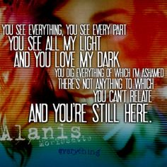 """""""Everything"""" was released as a single ten years ago today.What do these lyrics mean to you?"""