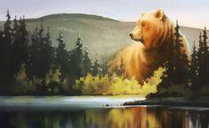 Животные Медведь  Обои