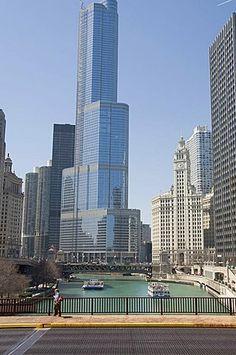 Trump Towers, Chicago, Illinois, United States of America, North America