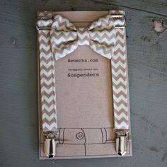 Nice suspender/bowtie packaging from bebecha.com